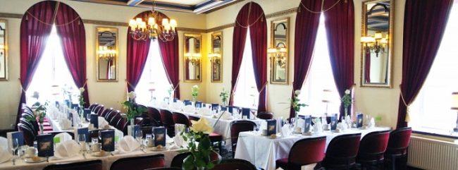 Sala Romanov en el restaurante del hotel Haikko