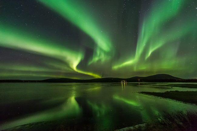 Siempre espectacular la Aurora Boreal