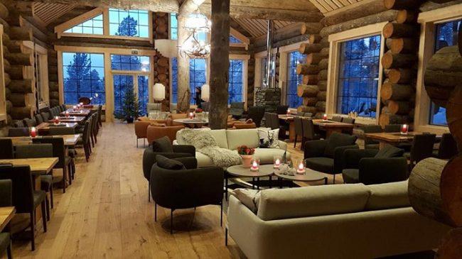 Detalle del restaurante del hotel Nangu