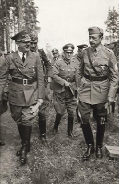 Mannerheim y Hitler en el bosque de Imatra