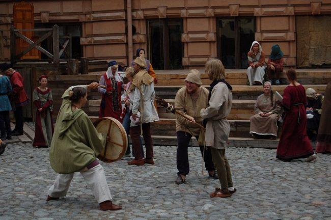 Festival Medieval en la ciudad de Turku