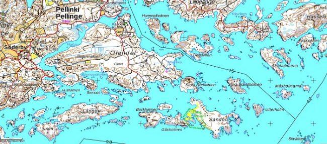 Pequeño detalle del archipiélago de Porvoo. Ningún kayakista puede resistirse a tal encanto