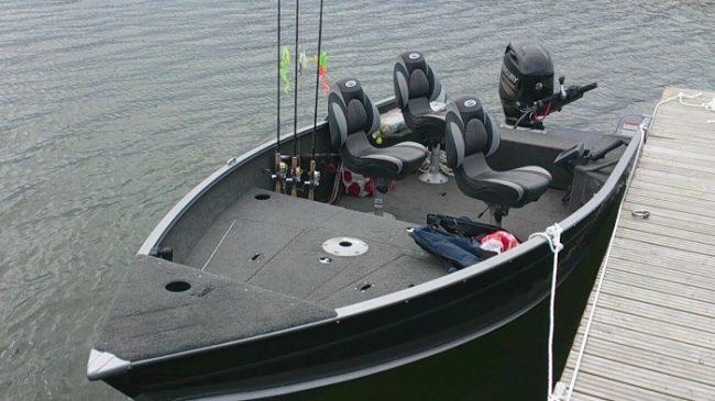 Una de las embarcaciones que se utilizan para pescar en el archipiélago de Sipoo