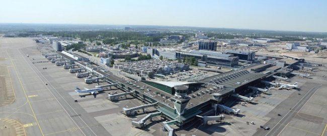 Aeropuerto de Helsinki desde el aire