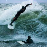 Practicando el Surf en Finlandia