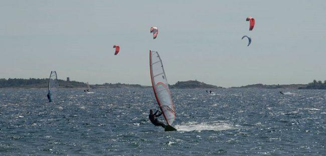 Windsurf y Kitesurf en Hanko