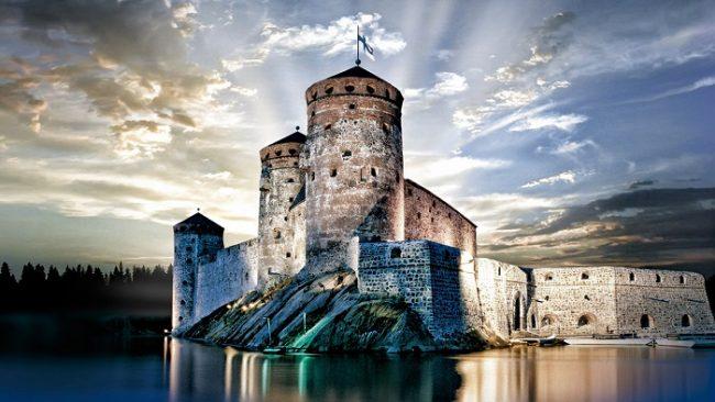 El castillo de Olavinlinna. Sede del Festival de Opera de Savonlinna