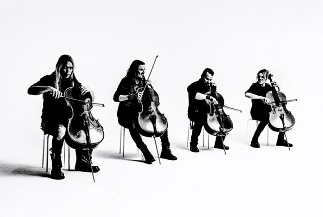 El grupo finlandés de Rock Metal, Apocalyptica