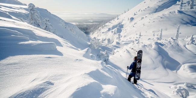 En el Parque Nacional de Pyhä-Luosto se pueden practicar todas las actividades de invierno