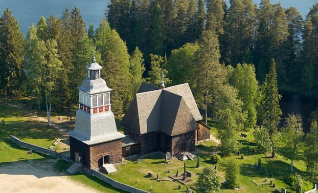 La iglesia de Petäjävesi