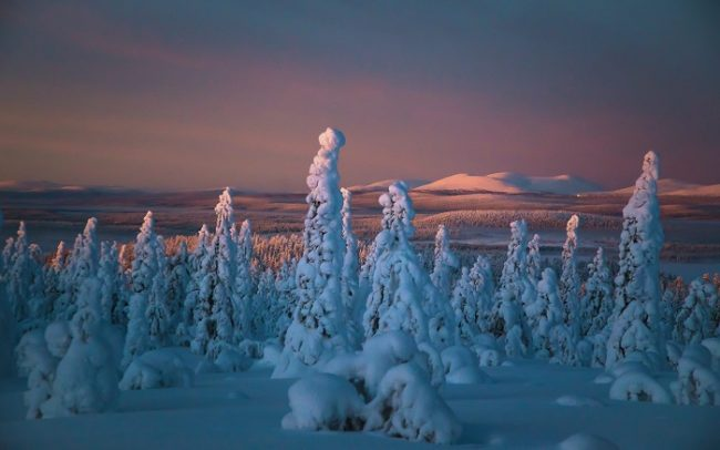 Invierno en Muonio-Harriniva
