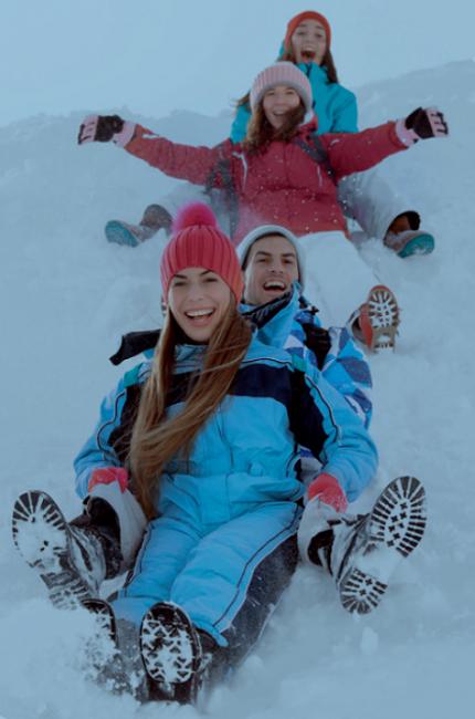 El Castillo de Nieve de los Mumins en Rovaniemi está pensado para que toda la familia disfrute