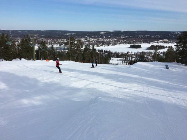 Estación de esquí de Ounasvaara en Rovaniemi