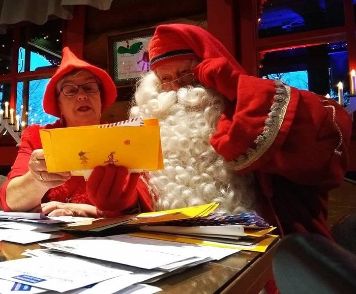 La oficina de correos oficial de Papá Noel
