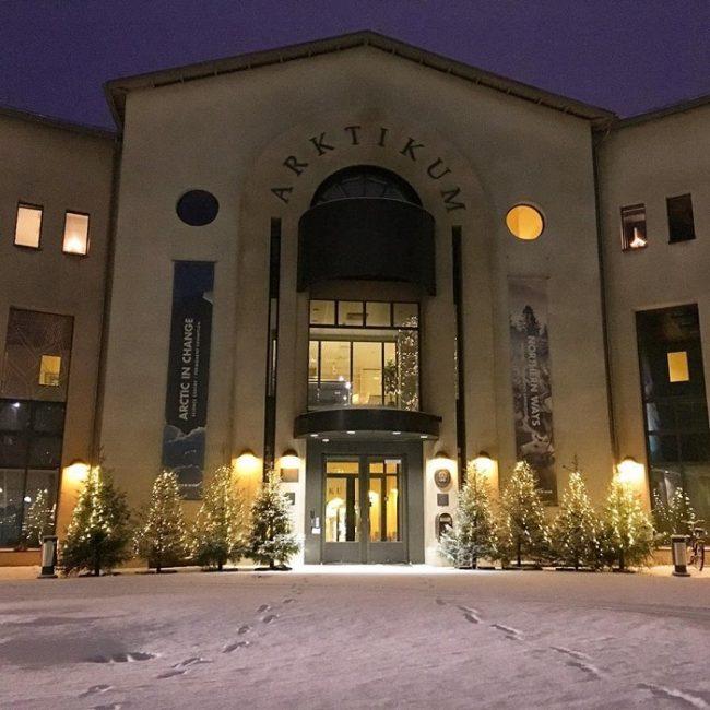 Entrada principal del museo Arktikum