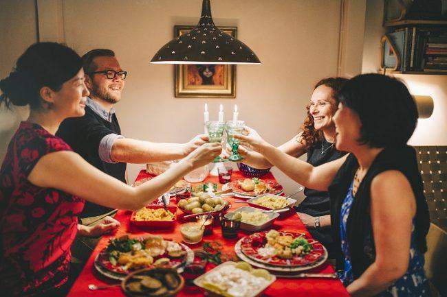 La fiesta de Navidad se celebra en Finlandia de manera sencilla entre familia y amigos
