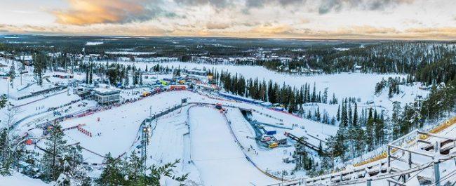 Las vistas desde la estación de esquí de Ruka son espectaculares
