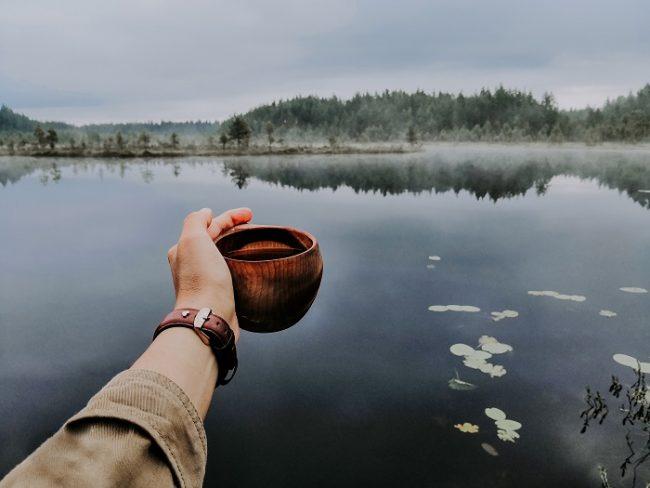 Atardecer en el Parque Nacional de Seitseminen