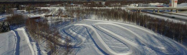 El mejor circuito de karting de Rovaniemi no esta muy lejos del centro de la ciudad