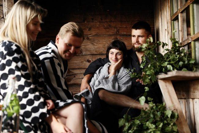 En Finlandia la sauna es una buena manera de relacionarse