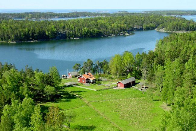 Casa en la isla de Älgö