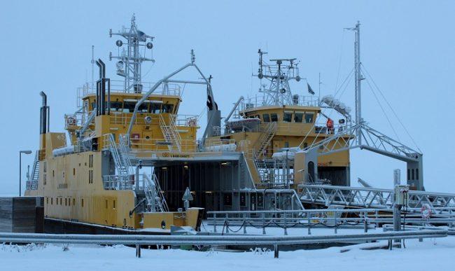 Los ferrys Meriluoto y Merisilta nos llevan a la isla de Hailuoto gratis