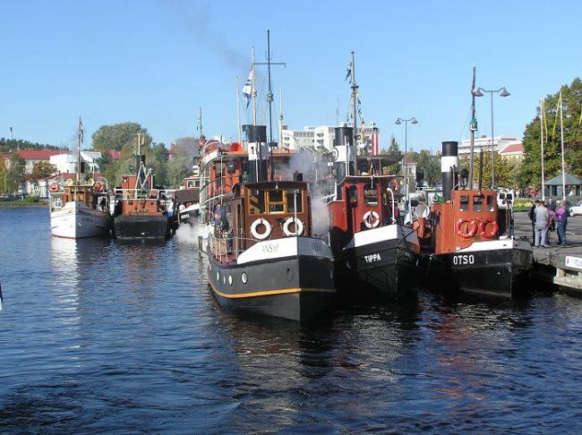 Barcos de vapor en Savonlinna