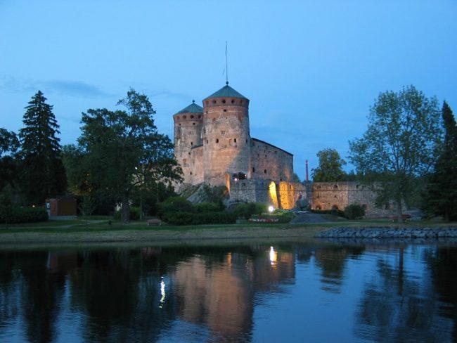 El castillo de Olavinlinna
