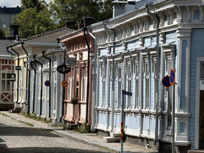 Barrio antiguo de Rauma, patrimonio de la UNESCO