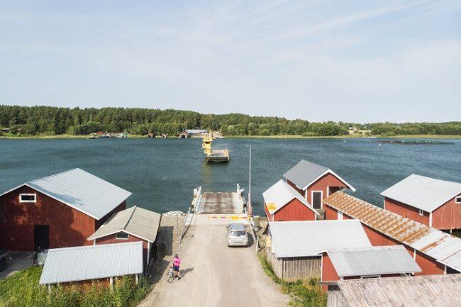 Los transbordadores son gratuitos en Finlandia