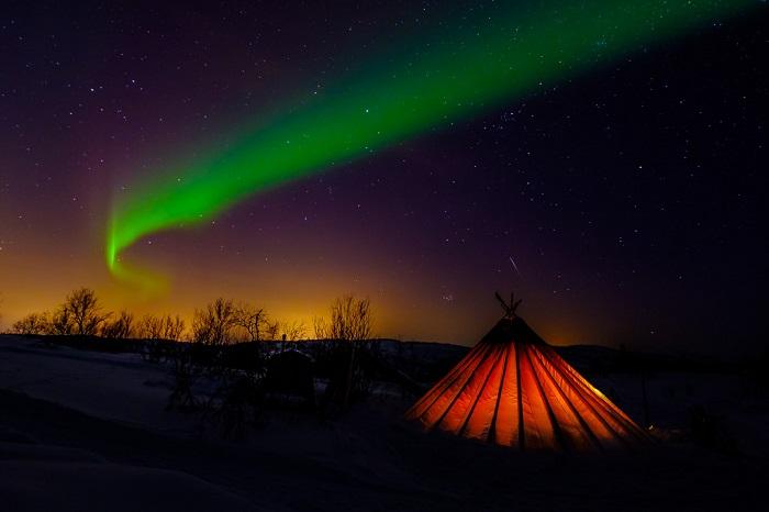 Como fotografiar la Aurora Boreal