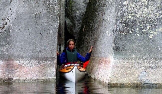 El Parque Nacional de Kolovesi es un lugar excepcional para la practica del kayak