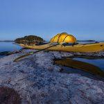 Jornada de varios días en kayak en el lago Saimaa