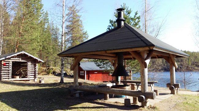 Zona de picnic en el Parque Nacional de Kolovesi