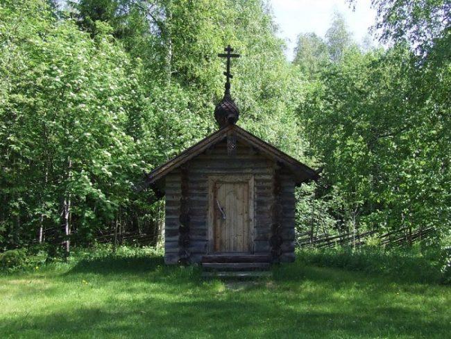 Capilla de San Germán de Alaska en el Monasterio de Valamo