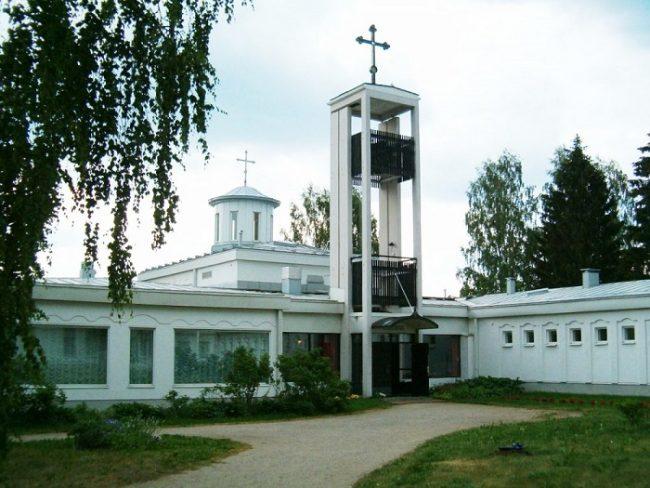 El convento de la Sagrada Trinidad en Lintula