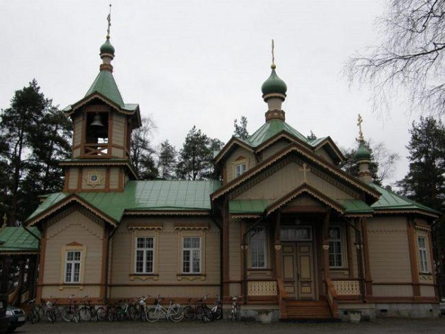 Iglesia de San Nicolás en Joensuu