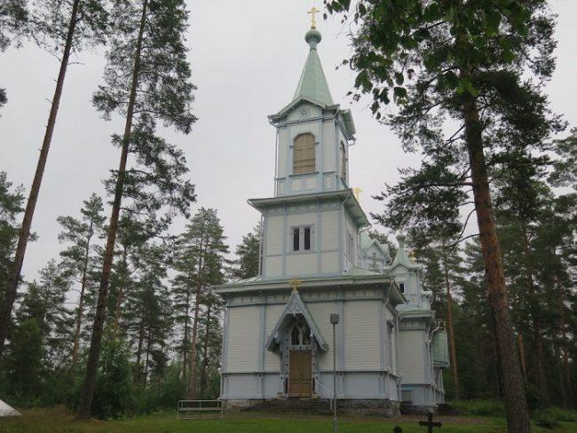 Iglesia de Tihvinä