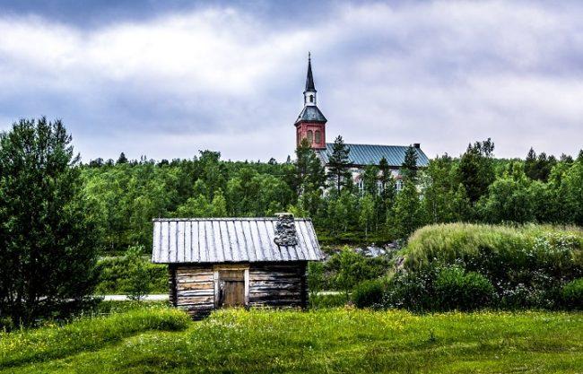 La iglesia de Utsjoki