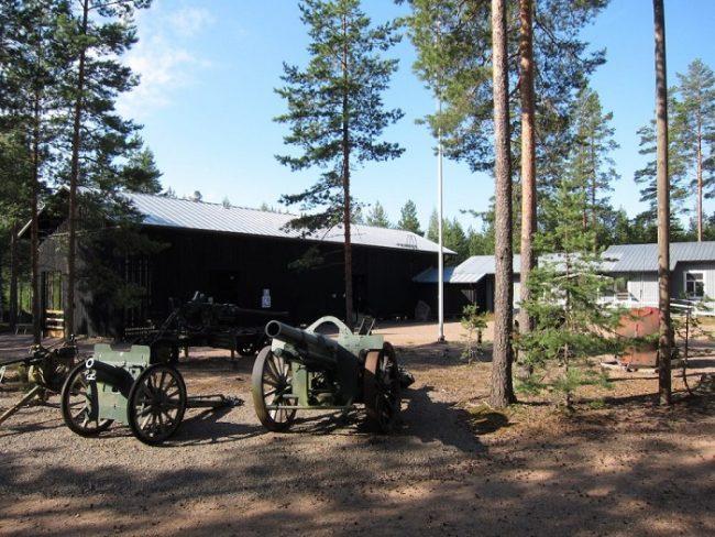 Museo del bunker en Virolahti