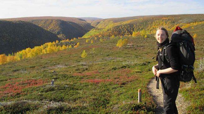 Paseando por la reserva natural de Kevo en Utsjoki
