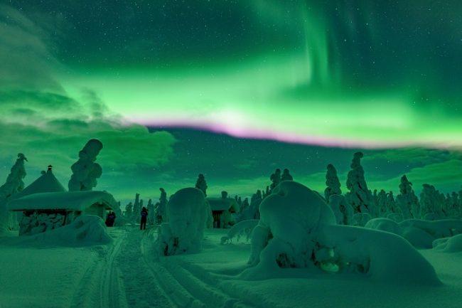 La Aurora Boreal en Enontekiö