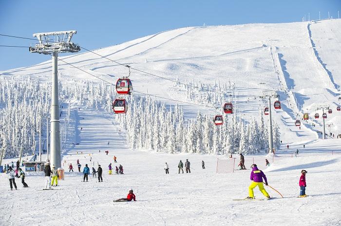 Esquiar en Laponia