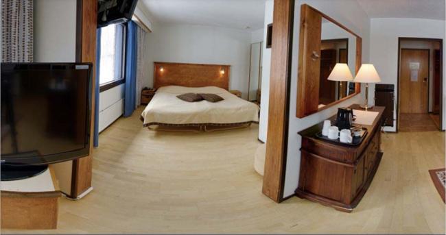 Detalle de la mini suite del hotel Ivalo