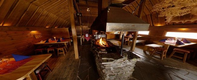 Restaurante Kammi del hotel Ivalo