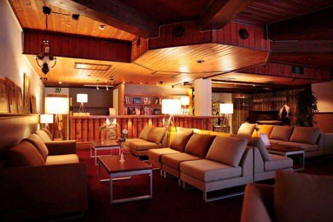 Salón del hotel Ivalo