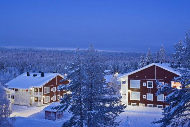 Edificios de apartamentos del hotel Äkäshotelli en Äkäslompolo