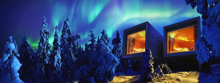 El hotel Arctic Tree House en Rovaniemi