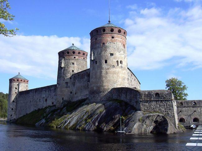 Olavinlinna, el castillo de Olaf en Savonlinna