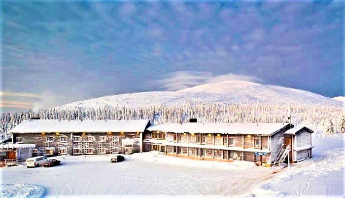 El hotel Pallas en Muonio